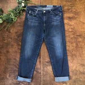 AG | The Prima mid rise Cigarette Crop Jeans